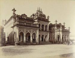 Library in Fort, [Rampur]